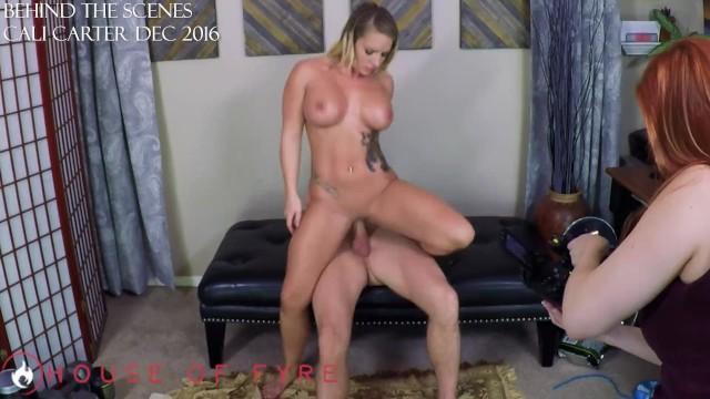 Cali feenix blowjob Cali carter gets fucked by her coach - laz fyre bts