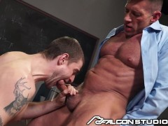 Falconstudios - The Sex-positive Lecturer Sequence 2: Justin Brody & Bruce Beckham