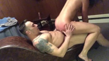 Daddy's home pt 8: 69, backwards cowgirl and Daddy edged