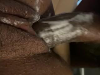 Cream filled pound fuck