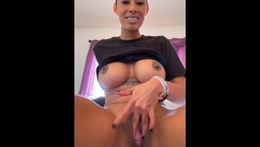 MissBNasty super creamy anal squirt
