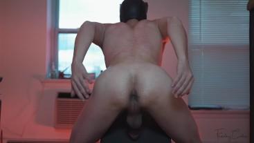Smooth Bottom Ab Coxx Bubble Butt - FARTING POV