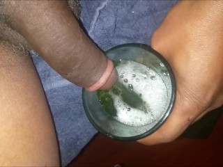 Filling the glass