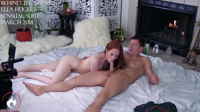 Vannessa hughens porn - Ella hughes fucks sucks my cock on set for sensual suite