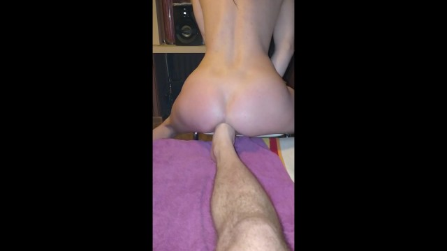 Crazy slut sex move - My wife gone fucking crazy she begged me to jump on my foot preview