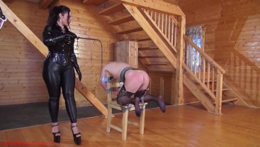 Punished on the chair
