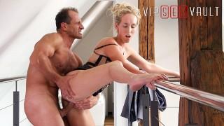 VIPSEXVAULT - Sexy Tall Blonde MILF Fucks Pervert Pretending To Sell House