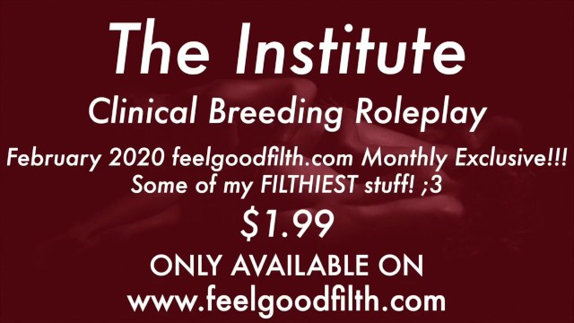 Bondage stories institute - Welcome to the breeding institute preview erotic audio for women