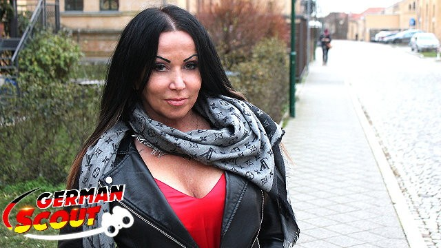 Katie price cumshot - German scout - huge tits milf katie talk to fuck at real street casting