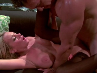 Hot paige ashley rides cock makes him wildy...