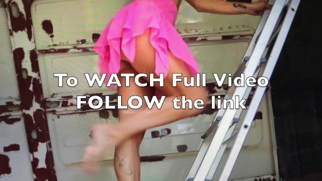 Vintage apache travel trailers Trailer of hot dance in a van by naked traveler