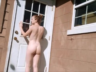 Getting locked out of my house naked
