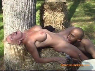 Country Granny Finds Her a BBC