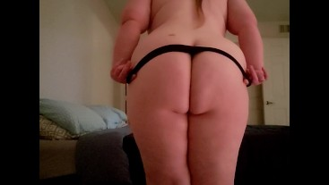 Chubby Milf Striptease