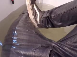 Piss skinny jeans
