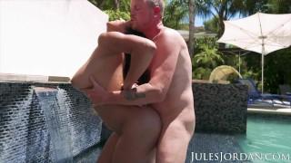 Jules Jordan - Autumn Falls Natural Breast Worship