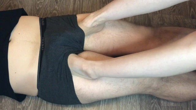 Foot foot job job Teen sockjob in stinky ped nylon socks after job underpants foot fetish