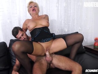 Scambisti Maturi – Big Tits Cougar Assfucked by new Son in Law