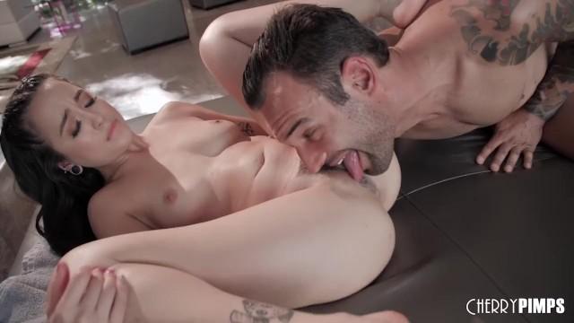 Asian babe alex lynn Asian babe mi ha doan turns sensual massage into harsh pussy fucking action