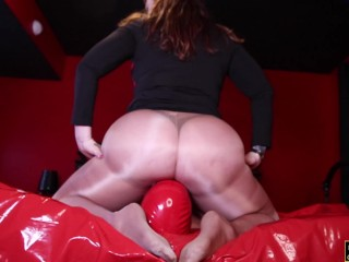 Phat Ass Smothering in Pantyhose Julie Simone