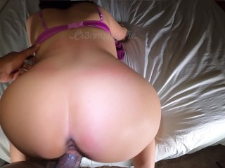 I like when he spreads my cheeks. My pussy wants to fart on his dick Cam1