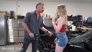 Trickery – Dirty Mechanic Tricks Kenzie Madison Into Sex