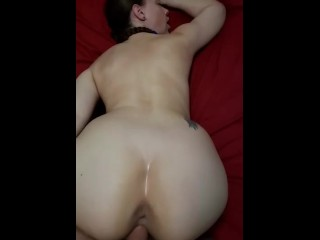 Cumming in her tight pussy from behind