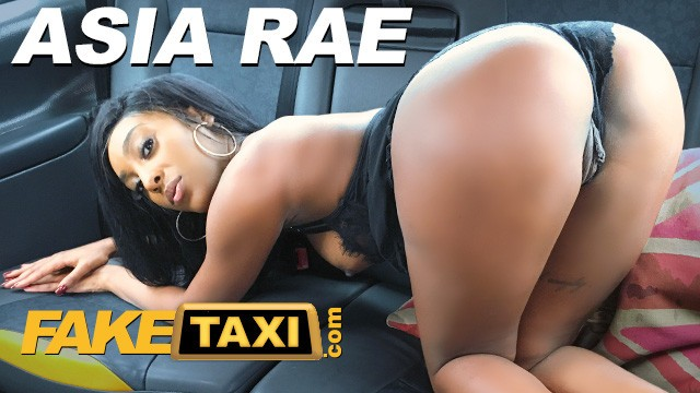 Asia big dick - Fake taxi ebony babe asia rae fucked and sprayed with cum