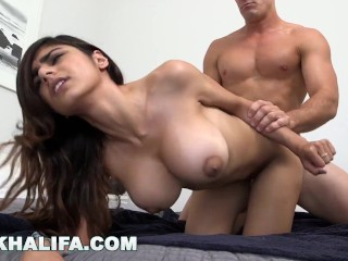 MIA KHALIFA – Sexy Babe Fucked Doggy Style On Repeat For Your Enjoyment
