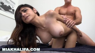 MIA KHALIFA - Sexy Babe Fucked Doggy Style On Repeat For Your Enjoyment