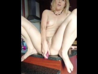 Sexy Milf Elize does anal & pussy from all angles... with a dildo & MORE!!