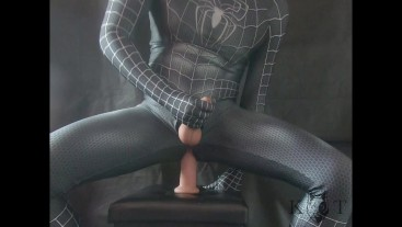 Spiderman Tries His New Super Power