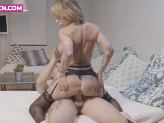 PORNBCN 4K Hot milf hardcore fucking compilation step mom anal squirt sex