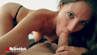 Wake Up Birthday Blowjob and Fuck He cums in my Mouth :P