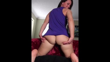 Can you imagine how much my ass would jiggle when you're fucking me?  Hard!
