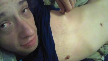 Enjoying The Minimal Boobies I Still Have....