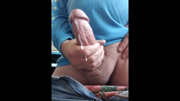 FPOV Pounding My Monster Cock For A HUUUGE LOAD