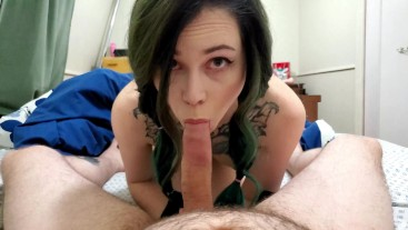 Making Daddy Cum In My Mouth POV