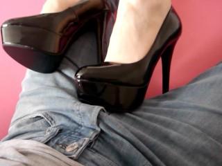 amateur nylon shoejob