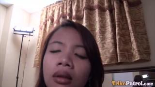 TRIKEPATROL Perky Tit Filipina Just Wants To Cum