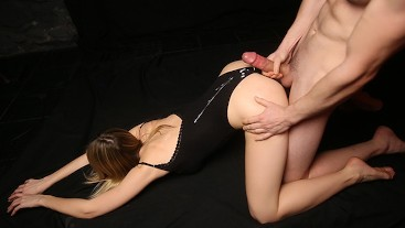Passionate Doggy Fuck Ending with Hot Cumshot