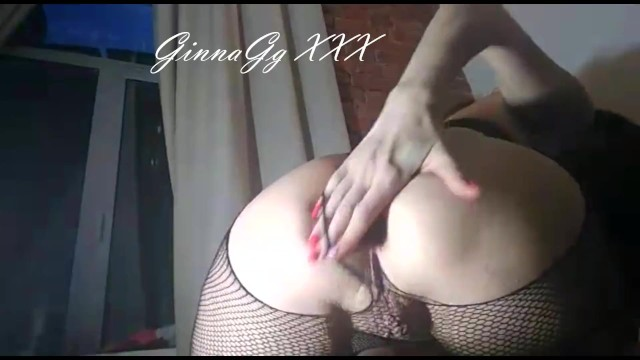 Pantyhose mall upskirt - Fingering pantyhose in mesh fetish big labia wet pussy ginnagg