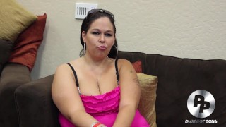 Big Booty BBW Aire Fresco Behind The Scenes Interview