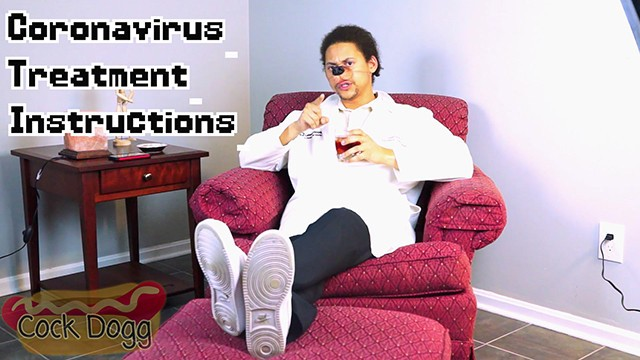 Instructional male masturbation guides Dr. cockdoggs guide to treating your coronavirus