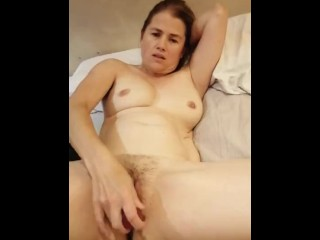 Lizzy cums in extreme waves of ecstasy…. Milf having serious dildo fun