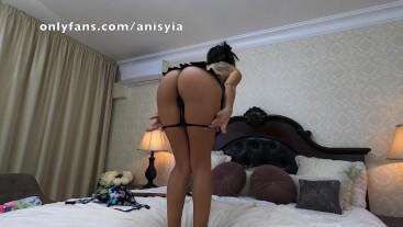 no panties miniskirt dancing - anisyia 4k