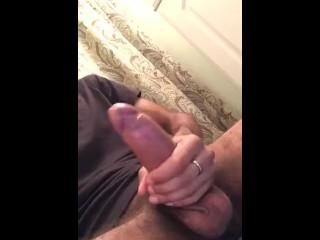 Hairy uncut cock...