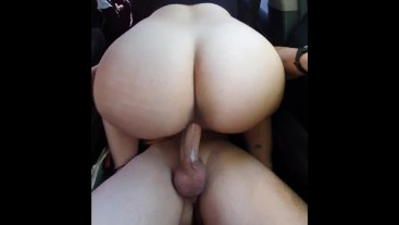 THE BEST FUCKING CAR SEX WITH MY BIG ASS SPANISH TEACHER - COMPLETE
