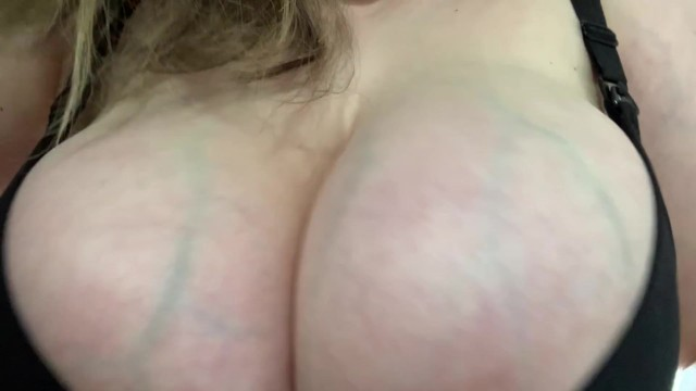 Mature bra busting sluts Round j cup tits busting out of sexy nursing bra