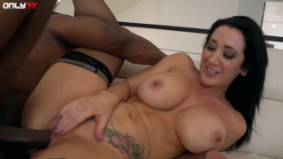 Full bosomed babe Jayden James unforgettable BBC scenes